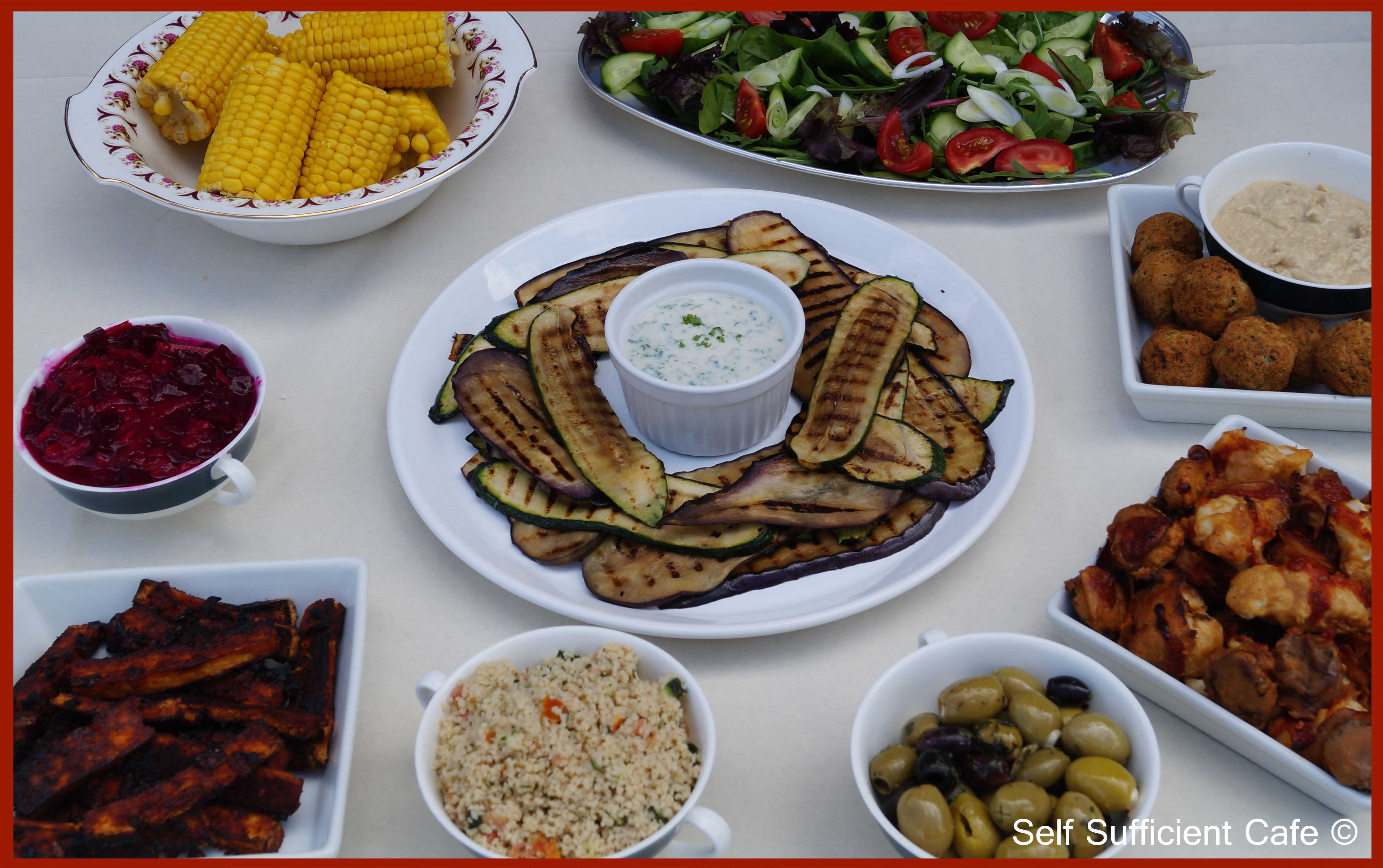 vegan bbq and 3 dish barbecue ideas |